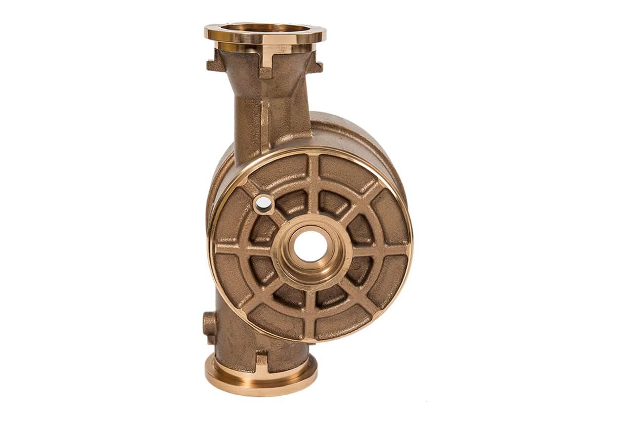 Compteur d'eau en bronze au plomb